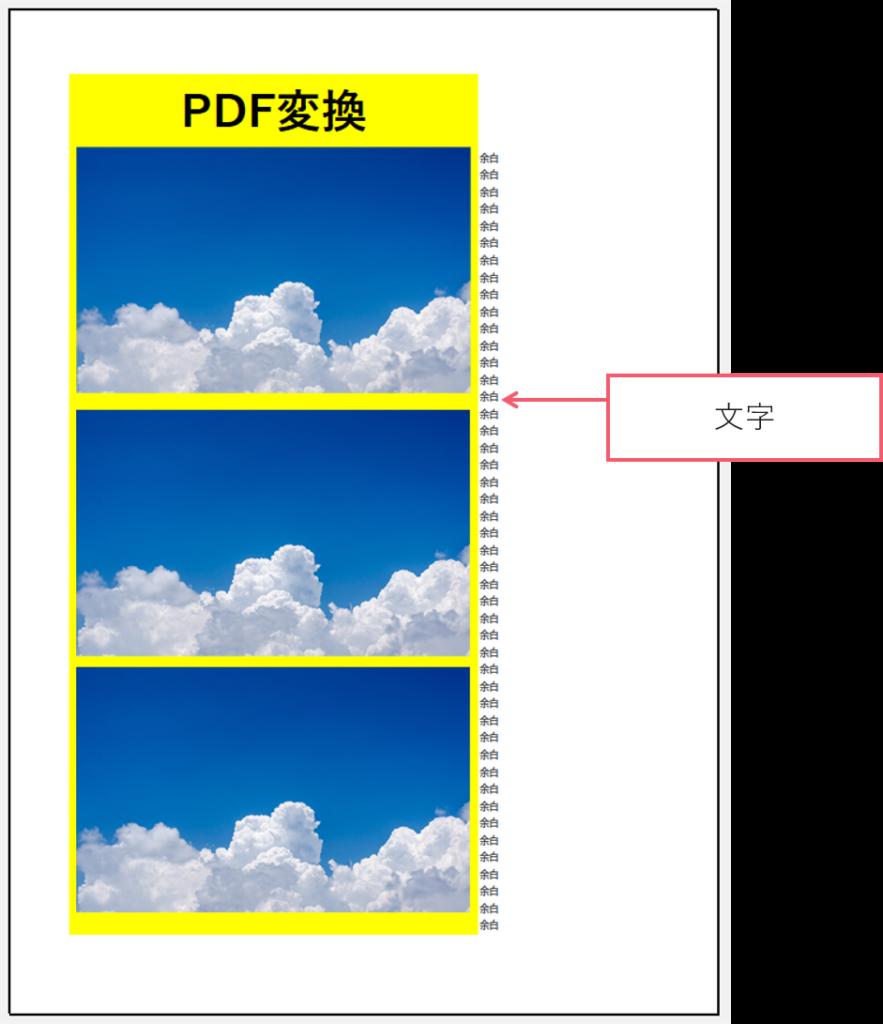 エクセル pdf ずれる